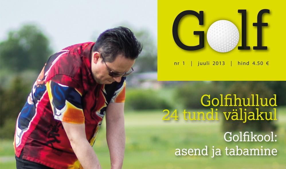 Uuesti ilmuma hakkanud golfiajakiri viis ansambli Vennaskond esmakordselt golfi mängima!