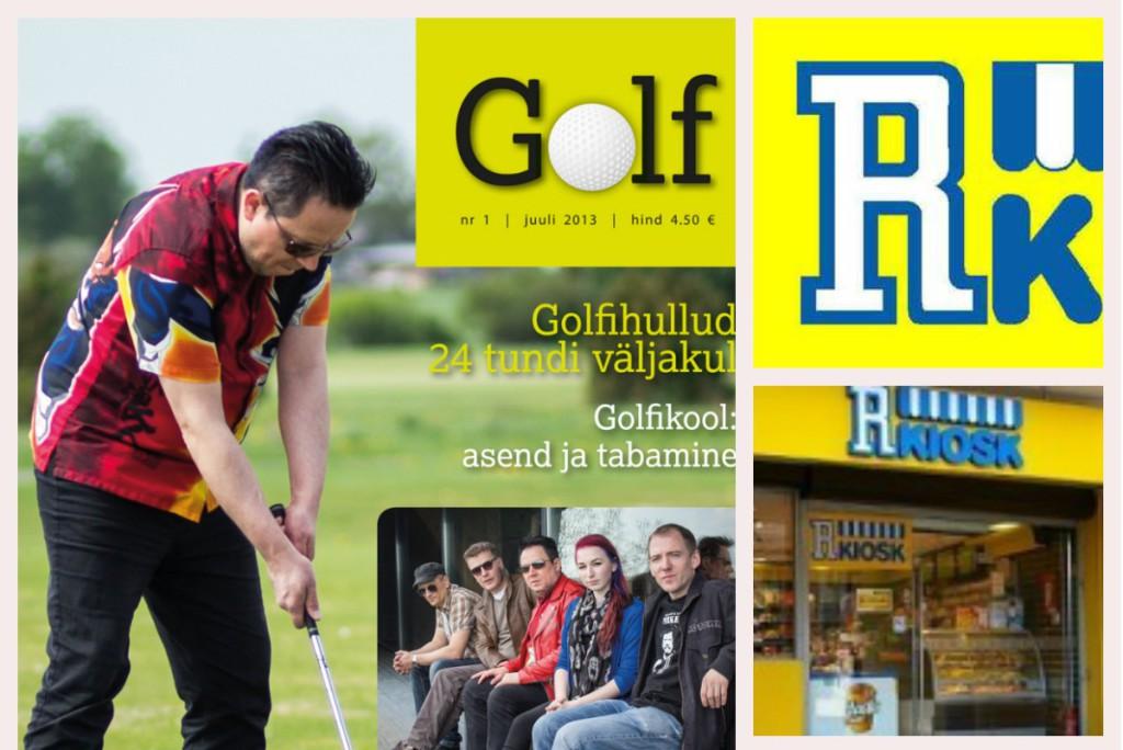 Kust saab ajakirja Golf osta?