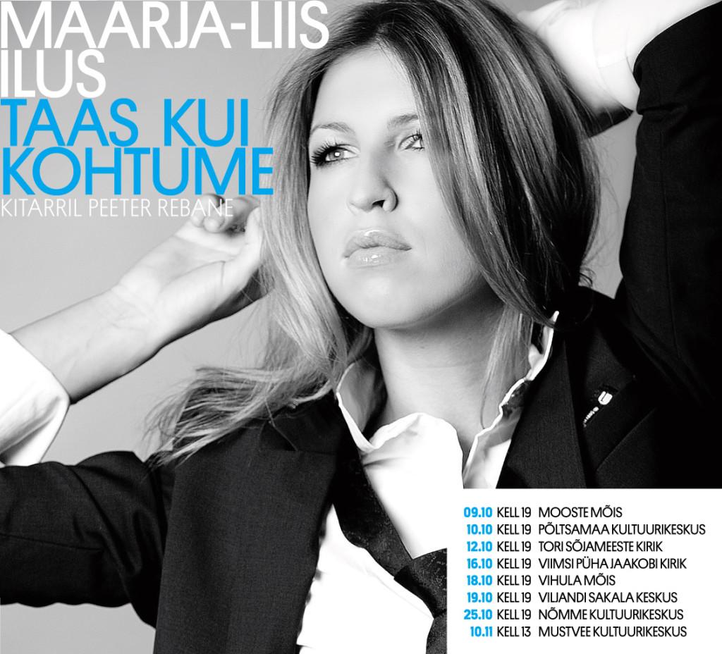 Aasta naisartist Maarja-Liis Ilus läheb Eesti tuurile!