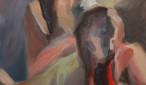 Helen Bunderi poolt oksjonile annetatud maal Nägemus, 2013, õli, lõuend 80 x 60