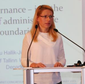 Anu Hallik-Jürgenstein INTA 38. kongressil 27. jaanuaril
