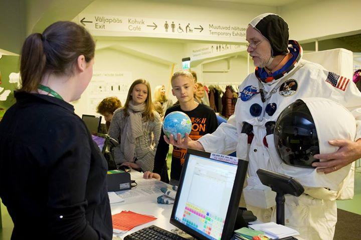Energia avastuskeskuse avab kosmose näituse