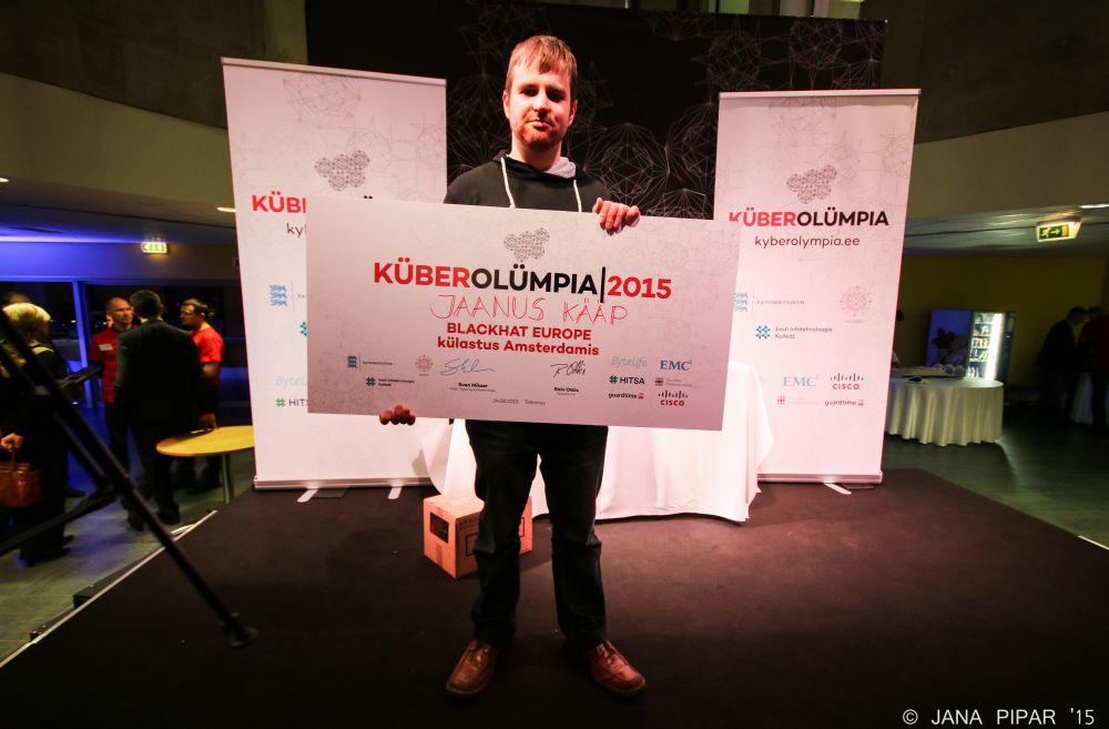 Küberolümpia 2015 võitis Jaanus Kääp IT Kolledžist
