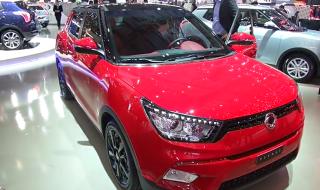 SsangYong Tivoli ˗ moodne auto