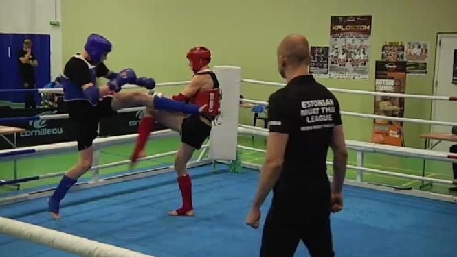 10 VIDEOT! Vaata eelmisel laupäeval toimunud Eesti Muaythai Liiga etapi matše