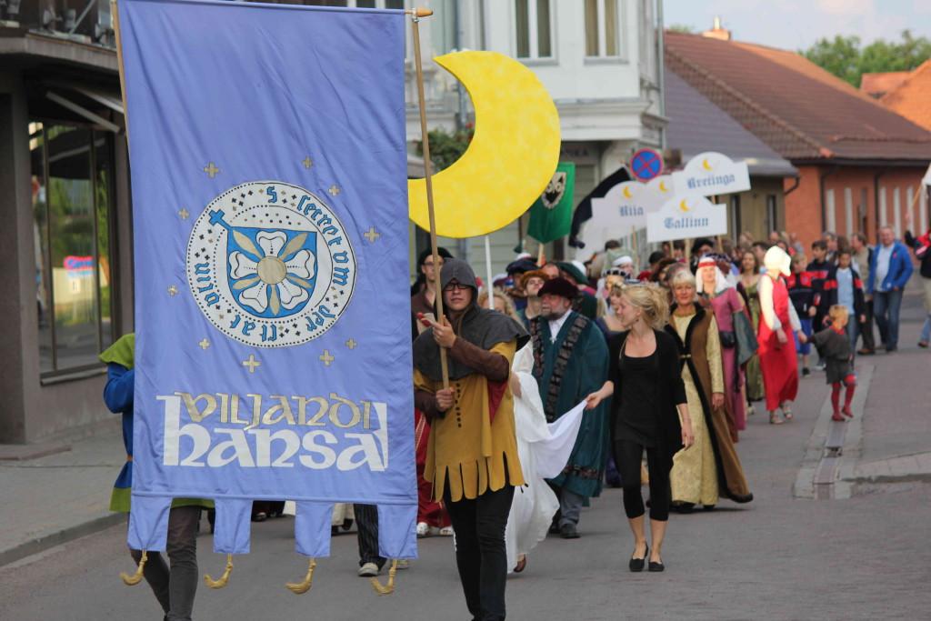 Viljandi kutsub pidutsema koos Euroopa hansalinnadega