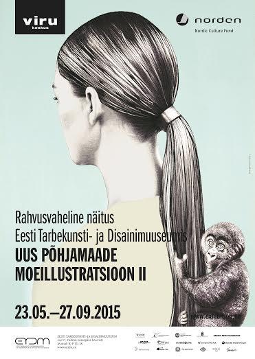 """MOEILLUSTRATSIOONID! Tallinnas avatakse näitus """"Uus Põhjamaade moeillustratsioon II"""""""