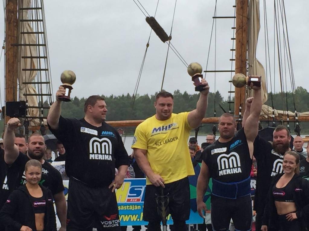 Eesti tugevaim mees sai Soomes kolmanda positsiooni