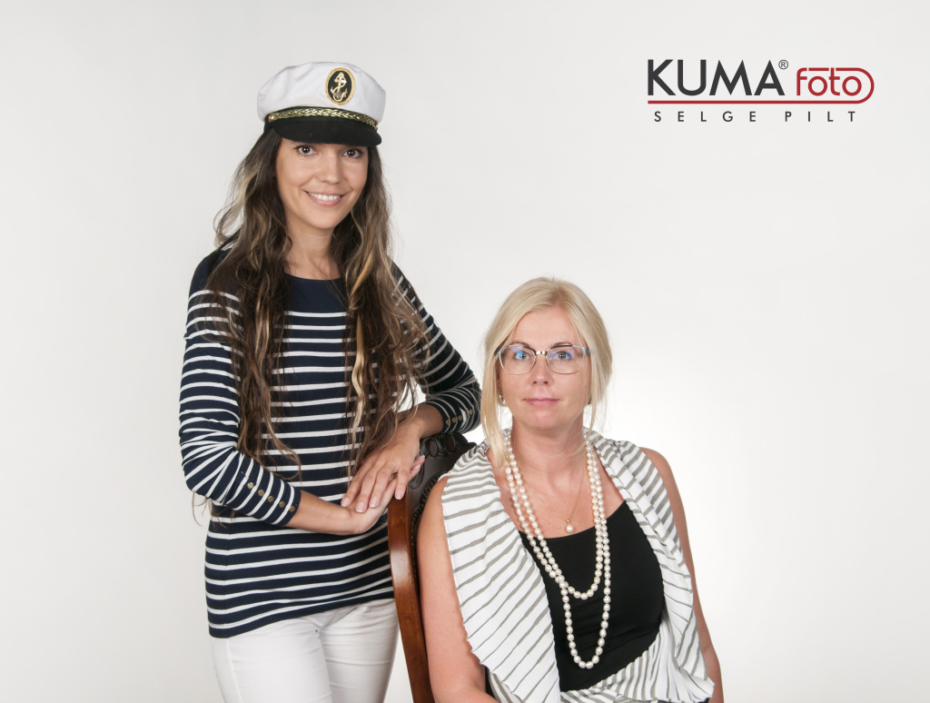 Monika Kuzmina ja Piia Ausman