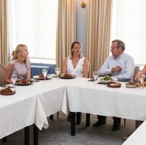 Presidendi lõuna Tartu idufirmade eestvedajatega