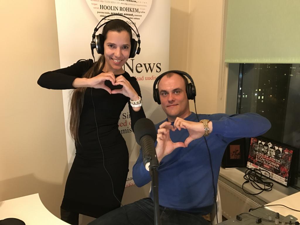KUULA KORDUST! FINEST FM JA GOODNEWS! Heade uudiste vahendaja Monika Kuzmina peab näosaadet kingituseks näitlejatele