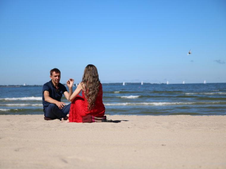 Urmas Sõõrumaa ja Monika Kuzmina