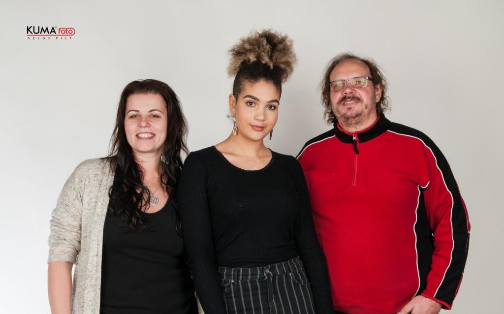 Elviira Eessaar, Sissi, Mati Palmet