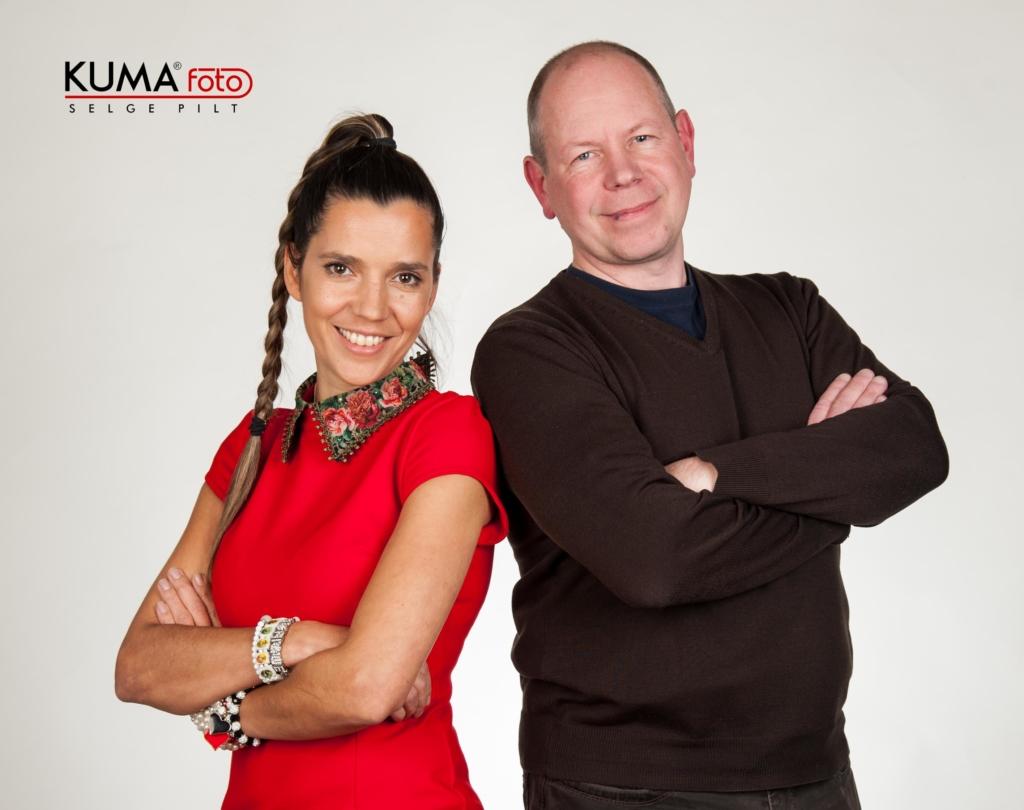 Raadiosaade head uudised – Monika Kuzmina ja Aare Rüütel