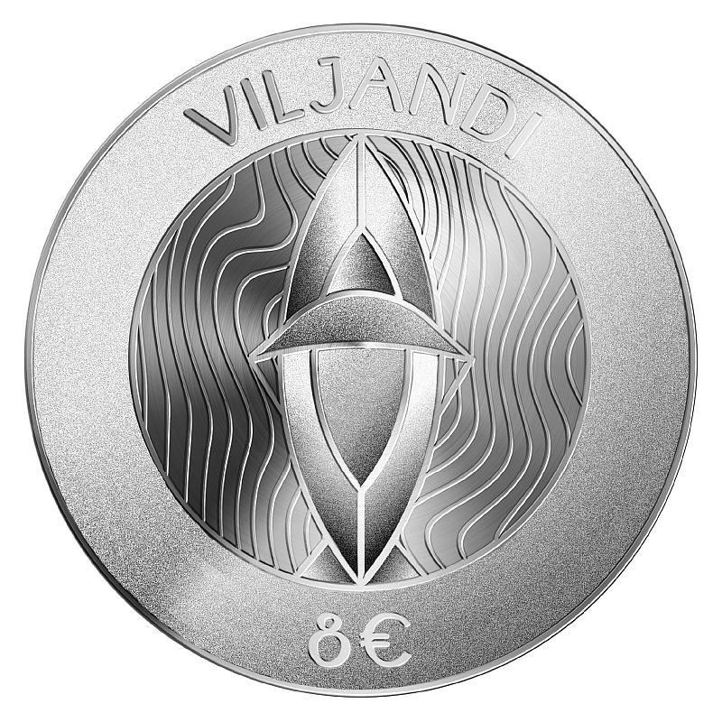 Nii näeb välja uus Eesti 8-eurone meenemünt