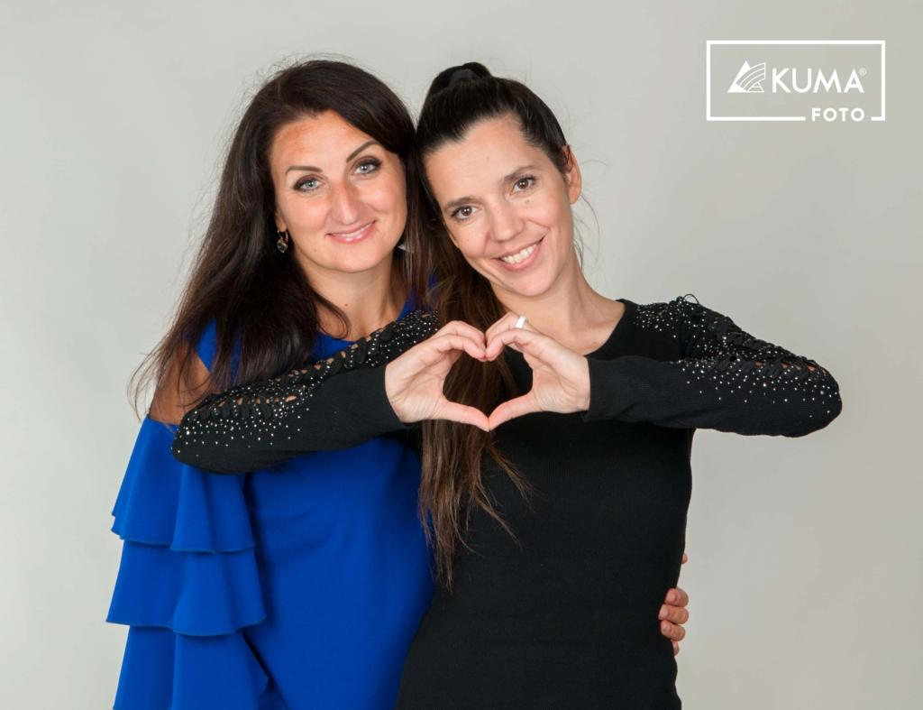 Carmen Pritson ja Monika Kuzmina