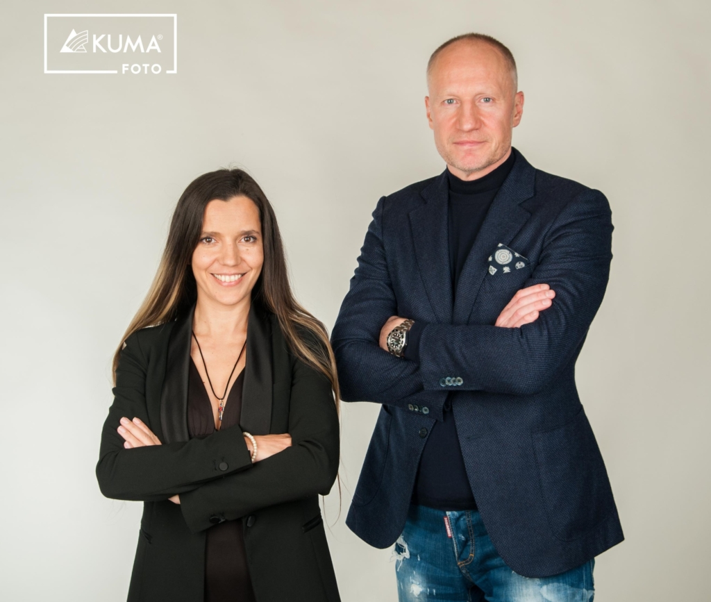 Monika Kuzmina ja Meelis Lao